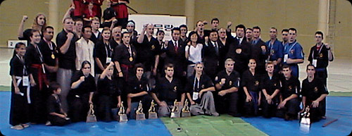 Group of Gumdo Instructors and Students